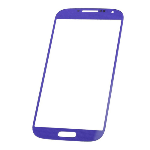 vidrio para samsung galaxy s4 s iv i9500 purple screen repla