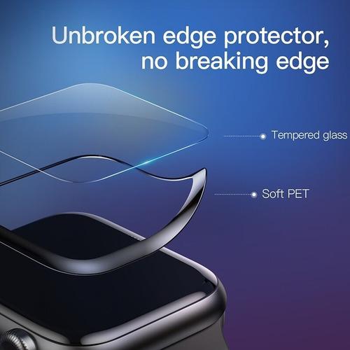 vidrio protector baseus 0.23 para apple watch 1/2/3 38 mm