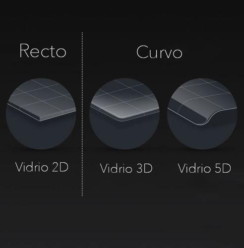 vidrio protector curvo templado 3d samsung s9 / s9 plus