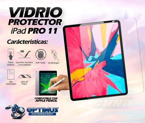 vidrio protector ipad pro 11 pulgadas