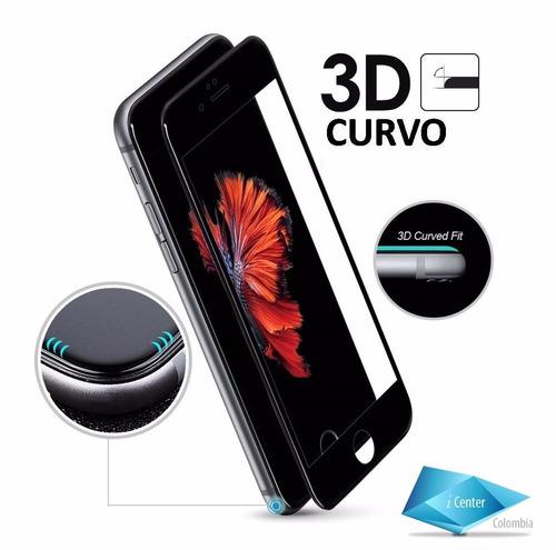 vidrio protector iphone 7 plus 3d pro biselado oleofobico