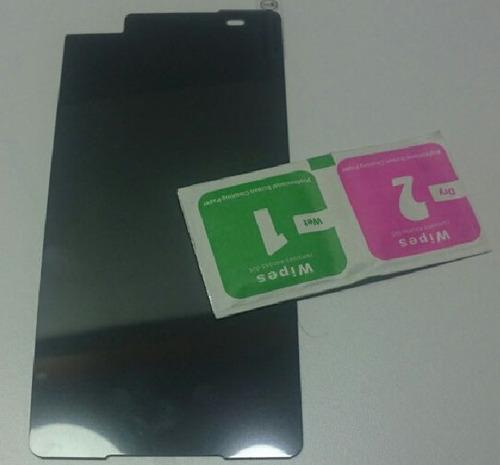 vidrio protector pantalla anti espia sony xperia c5 ultra