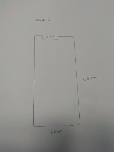 vidrio protector pantalla nokia 3