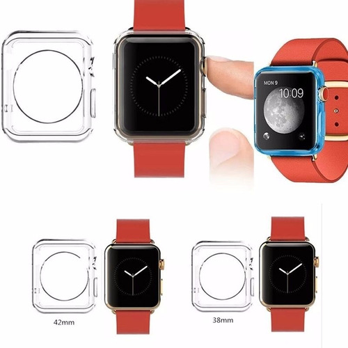 vidrio + protector ultraslim apple watch 38  serie 3