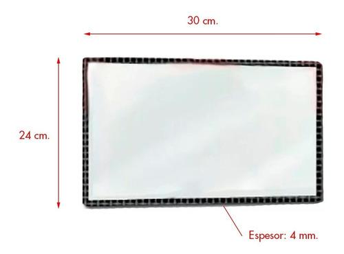 vidrio salamandra tromen 7001 prisma geo 30x24x0,4 cuotas