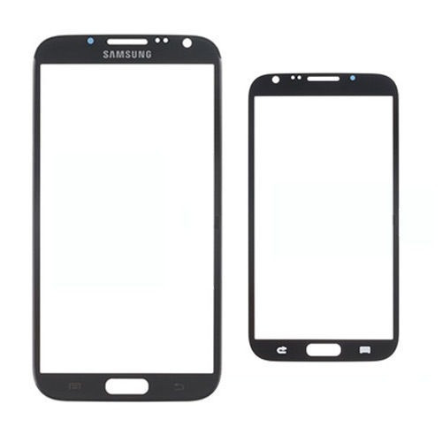 vidrio samsung galaxy note 2 replacement front glass - gray