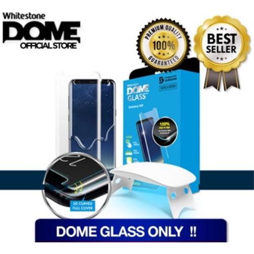vidrio samsung note 8 & 9 whitestone dome glass + uv lamp