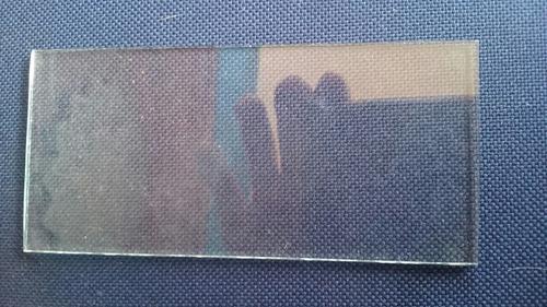 vidrio soldar transparente