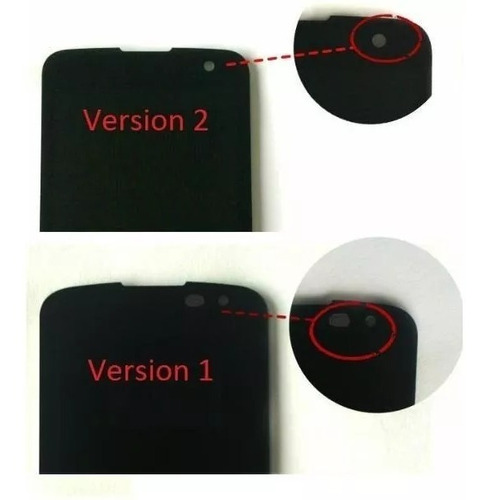 vidrio tactil touch pantalla original lg k4 d120 k120 ar