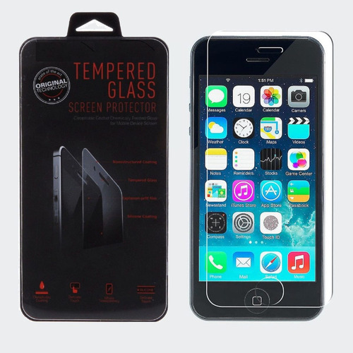 vidrio temperado ophone 5s y 5  *100% anti-impacto
