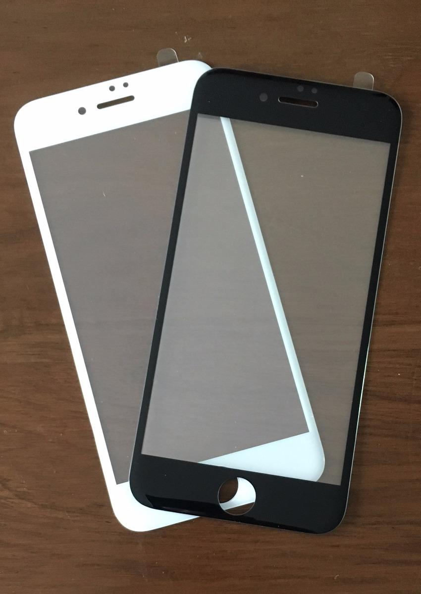 ef387284fec vidrio templado 5d curvo apple iphone 7 plus 8 plus colocado. Cargando zoom.
