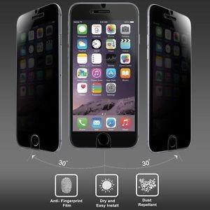 vidrio templado anti-espia privacidad p/iphone 6 7