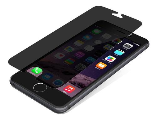 vidrio templado antiespia privacidad iphone 6 6s 7 8