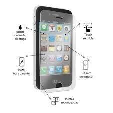 vidrio templado apple iphone 4, 4s 100% original