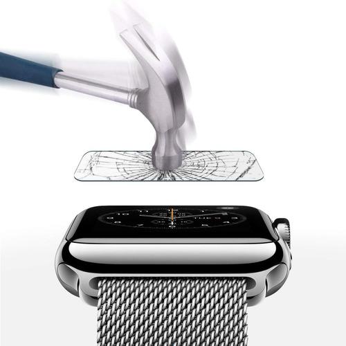 vidrio templado apple watch 42mm alta calidad importado amaz
