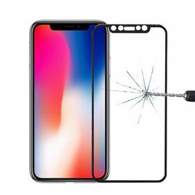 Vidrio Templado Completo Para iPhone X