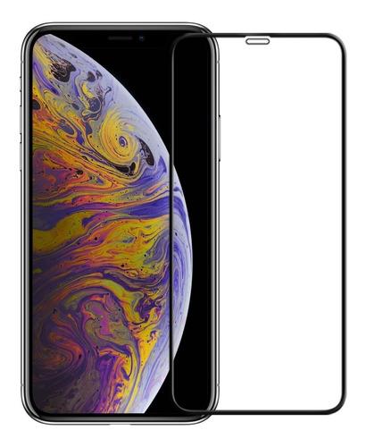 vidrio templado curvo iphone xr xs xs max full cover