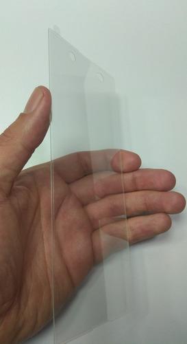 vidrio templado curvo  protector  sony xperia xa1 ultra
