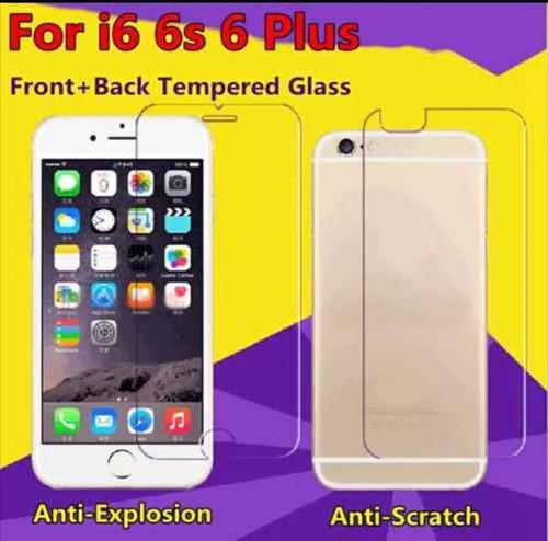 vidrio  templado doble iphone 6 / iphone 6s