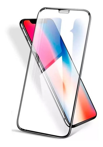vidrio templado glass 5d full iphone x xr xs max