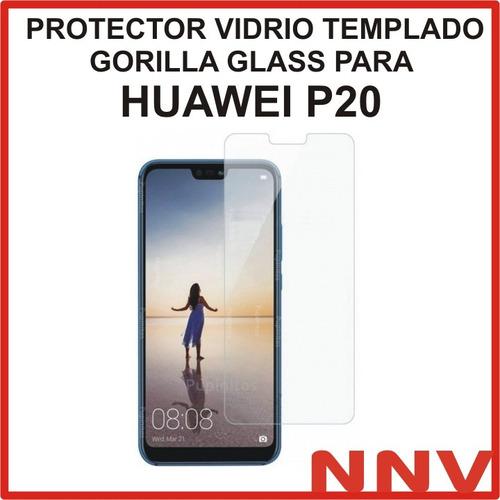 vidrio templado gorilla glass huawei p20 protector nnv