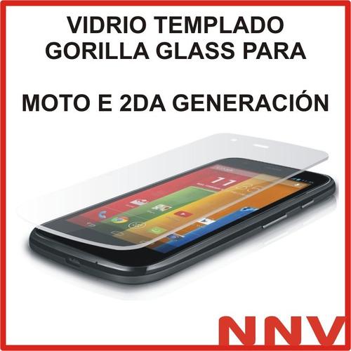 vidrio templado gorilla glass moto e2 2 da generacion xt1527