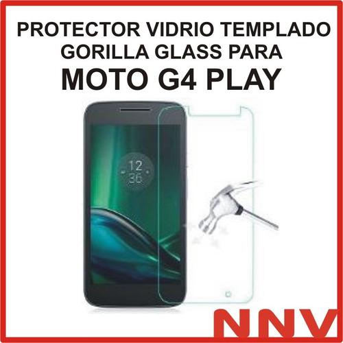 vidrio templado gorilla glass motorola moto g4 play xt1601