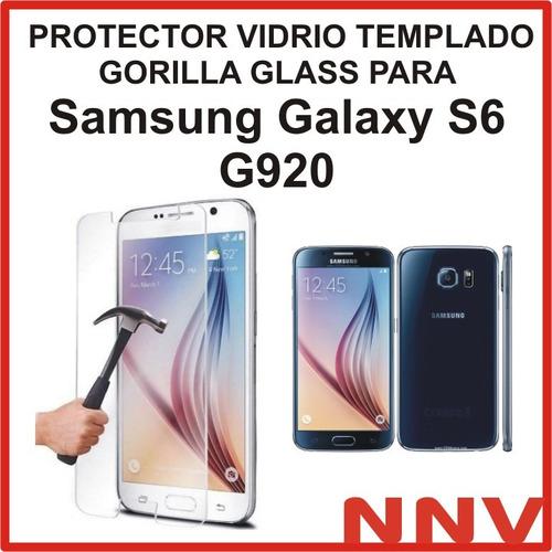 vidrio templado gorilla glass samsung galaxy s6 g920