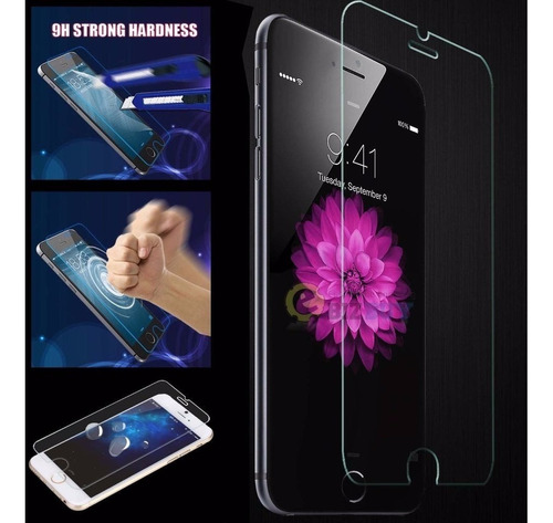 vidrio templado iphone 4/5/6/6 plus. super resistente!