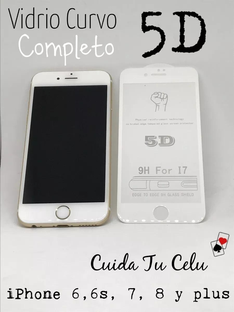 074c9a475bc ... Protectores de Pantalla · iPhone. Compartir. Compartir. Vender uno  igual · vidrio templado iphone 6 7 8 plus 5d curvo + q 3d y 4d ful.  Cargando zoom.