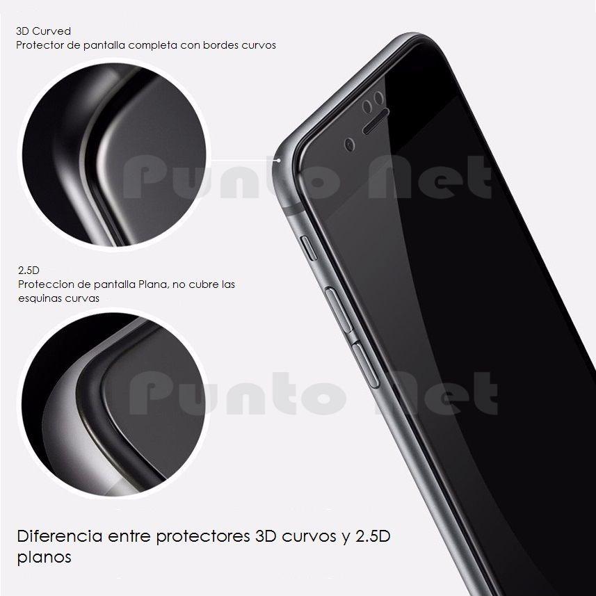 6cf5e44d894 Vidrio Templado iPhone 7 8 6 Plus Curvo 5d Full Cover - $ 350,00 en ...