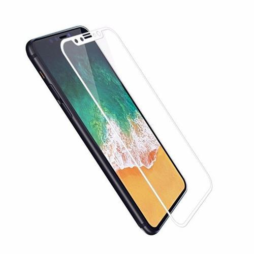 vidrio templado iphone x mica vidrio 3d - envios nacional