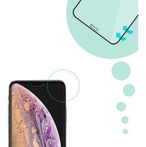 vidrio templado iphone xs max 5d curvo cubre hasta el borde