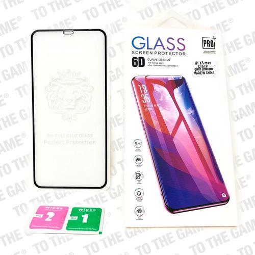 vidrio templado iphone xs max iphone xr y x  full pegamento