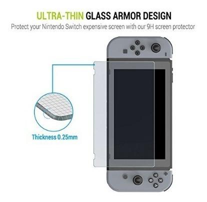 vidrio templado nintendo switch excelente calidad