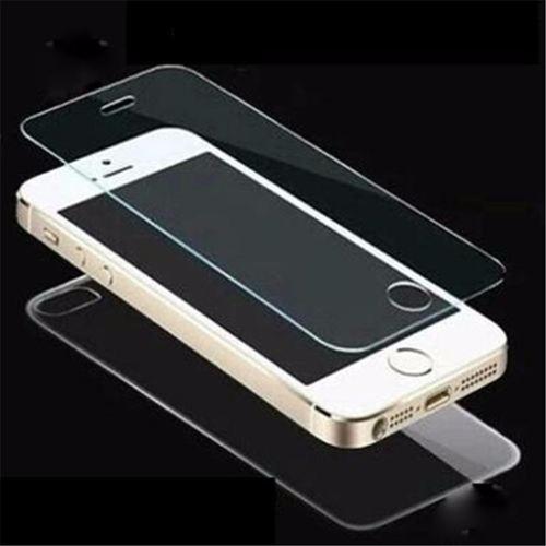 vidrio templado pantalla y trasero iphone 5 6 6s, 6s plus