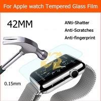 vidrio templado para apple watch 38mm y 42mm