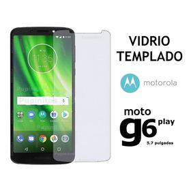 Vidrio Templado Plano Motorola Moto G6 Play/max