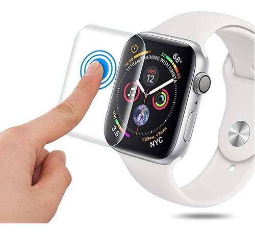 vidrio templado plano para apple watch iwatch serie 1 2 3 4