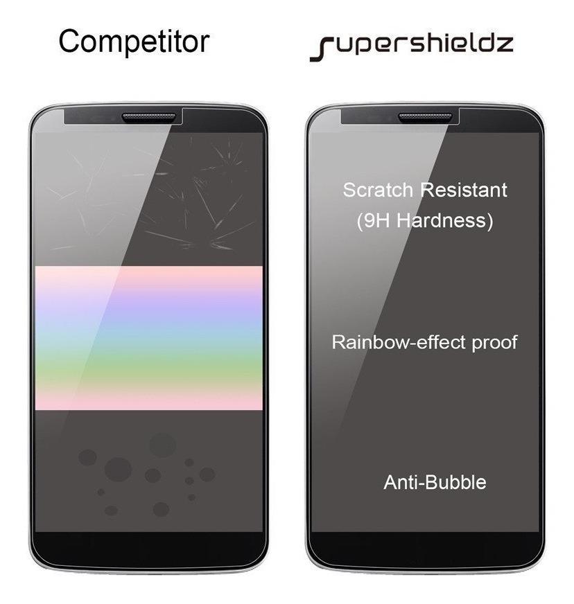Supershieldz protector Protector de Pantalla de Vidrio Templado para BLU DASH X2