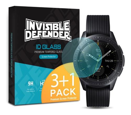 vidrio templado ringke glass galaxy gear watch 42mm pack x4