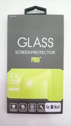 vidrio templado samsung note 4 glass screen protector pro+
