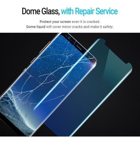 vidrio templado samsung  s8 s8+ s9 s9+ whitestone dome glass original