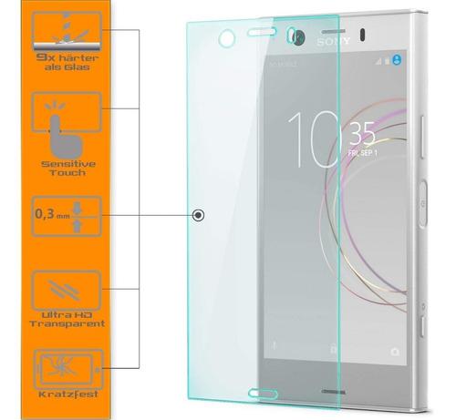 vidrio templado sony xz1 compact 9h anticaidas