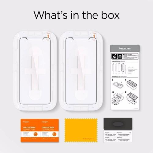 vidrio templado spigen iphone 11 pro max xs max ez fit tr v2