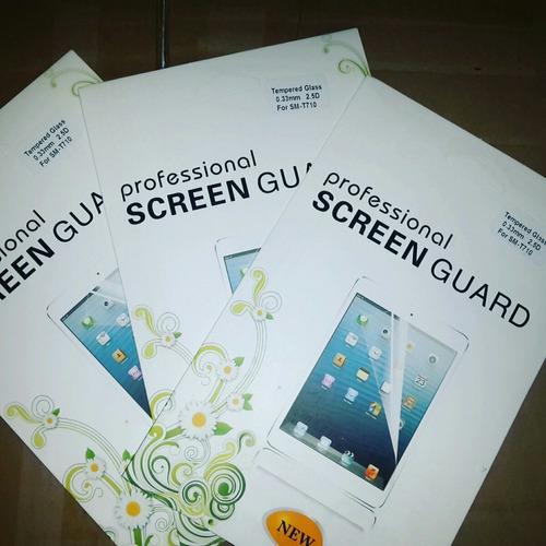 vidrio templado tablet sm-t710 samsung calidad a+