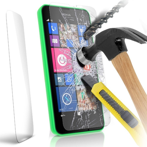 vidrio templado tempered glass para nokia lumia 730 735