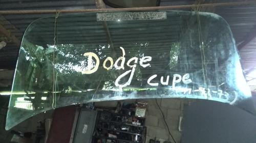 vidrio trasero dodge dart coupe 1970