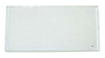 vidrio visor emege 2.6x5.2cm templado art.03899/1