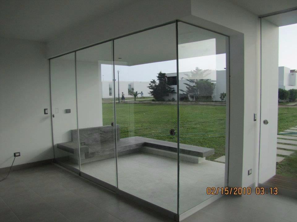 Vidrios para oficinas casas en vidrio templado s 1 00 - Mamparas vidrio templado ...
